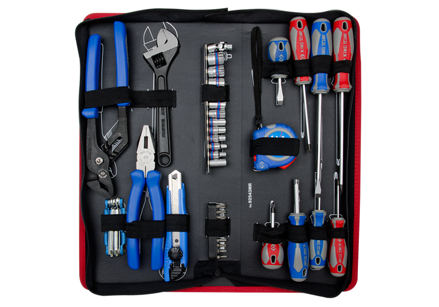 KING TONY – Combination Tool Kit in Pouch 43pcs