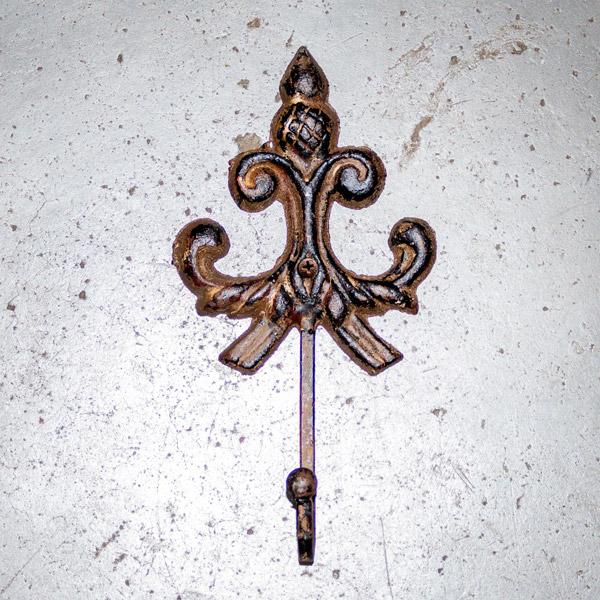 Hook Fleur Bronze
