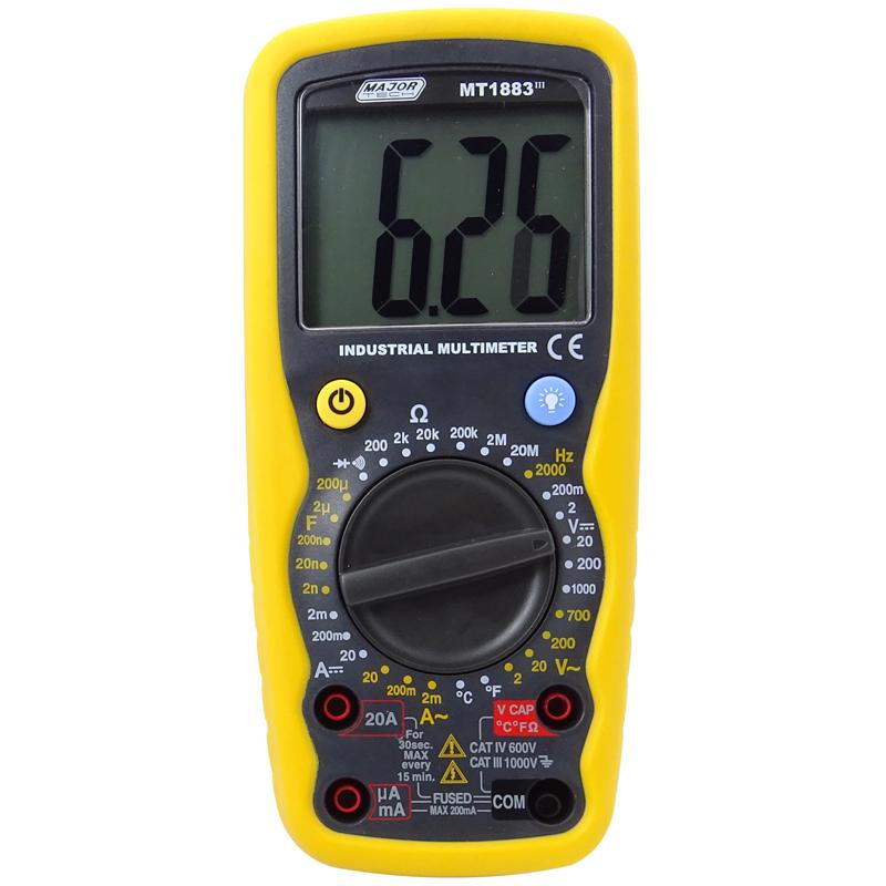 General Purpose Multimeter (MT1883) - Major Tech