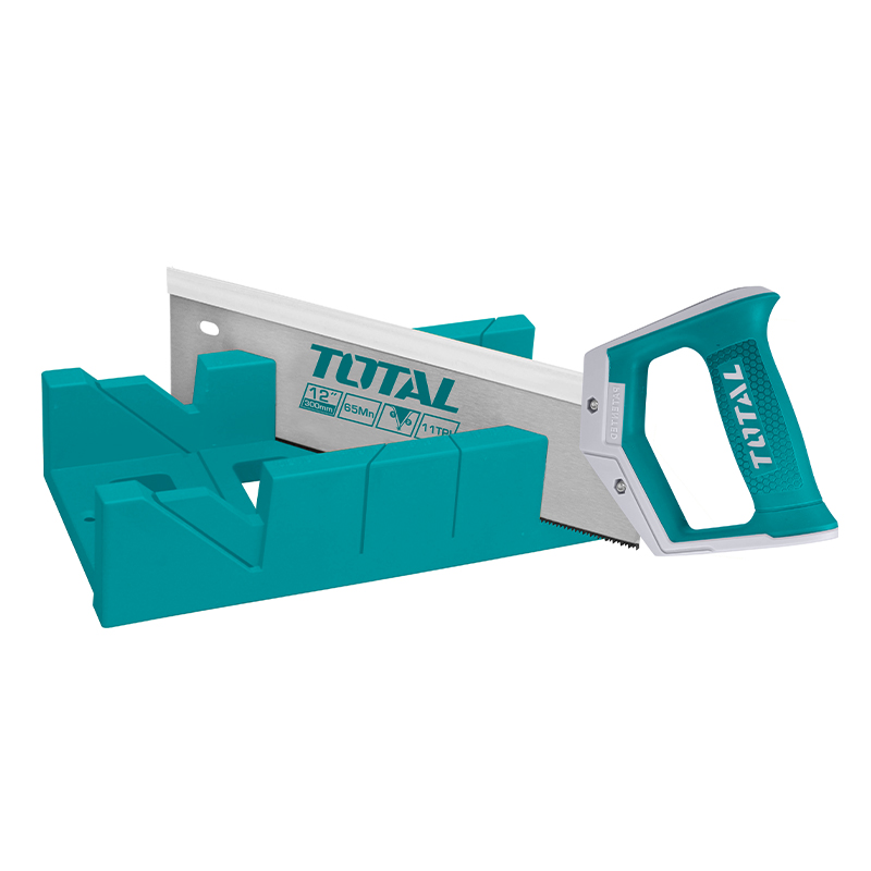 Total Tools Mitre box and back saw set