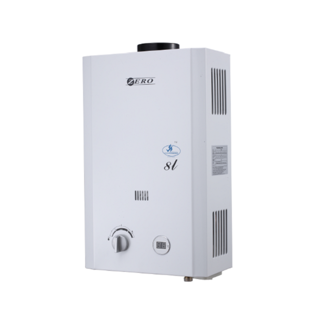 Zero Appliances 8 L Gas Water Heater Including Flue