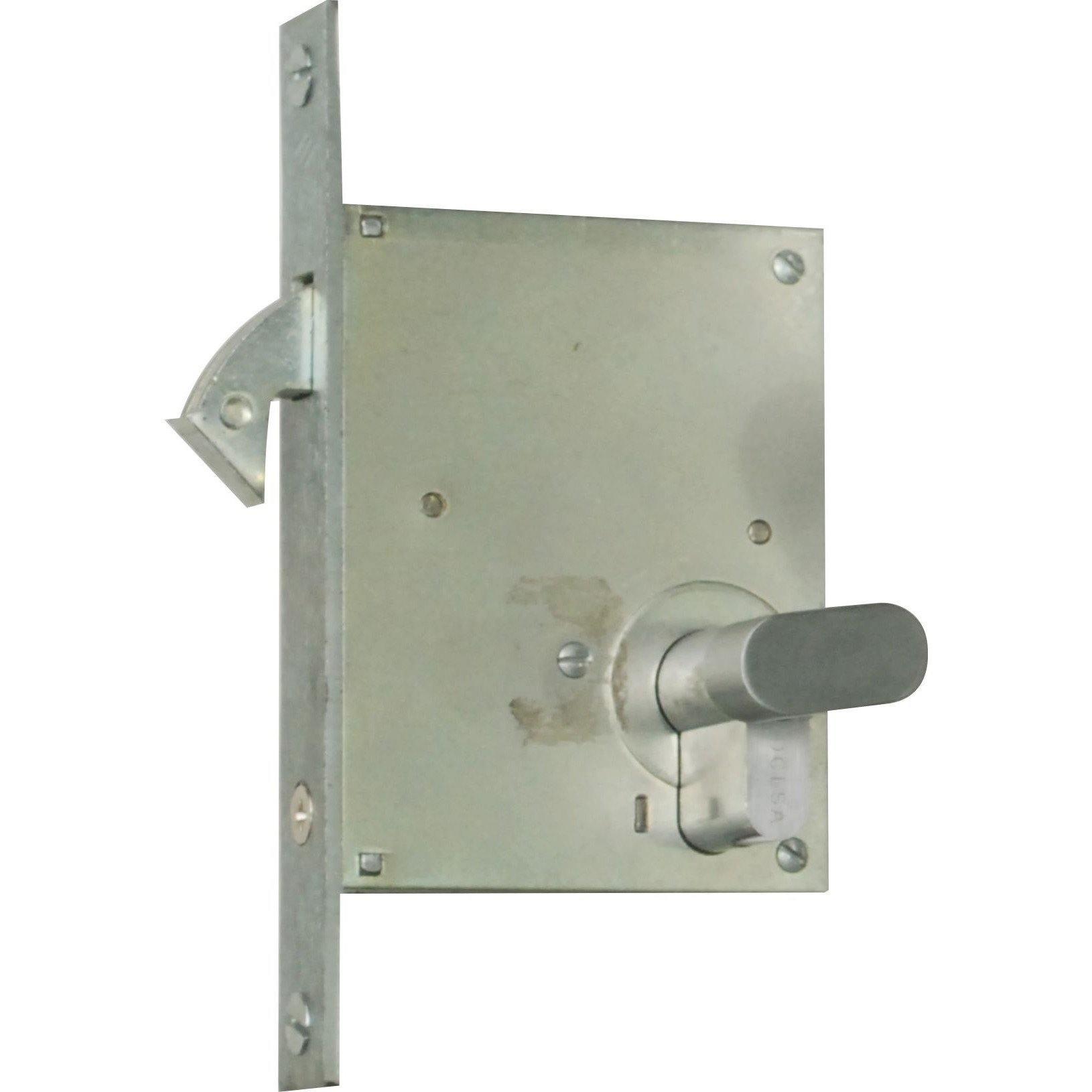 Hook lock for wooden sliding door (Lock Body Only)