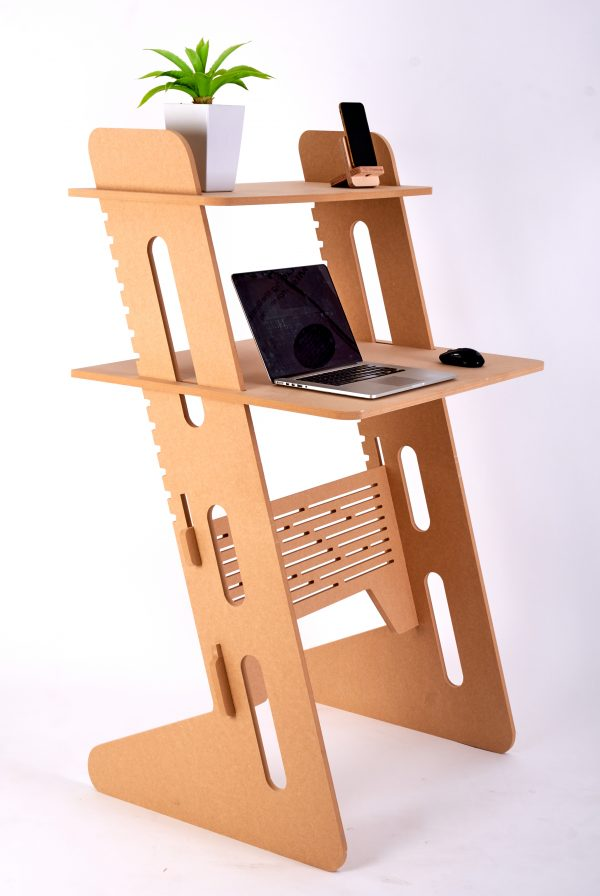 Sitting Standing Workstation Raw Compact