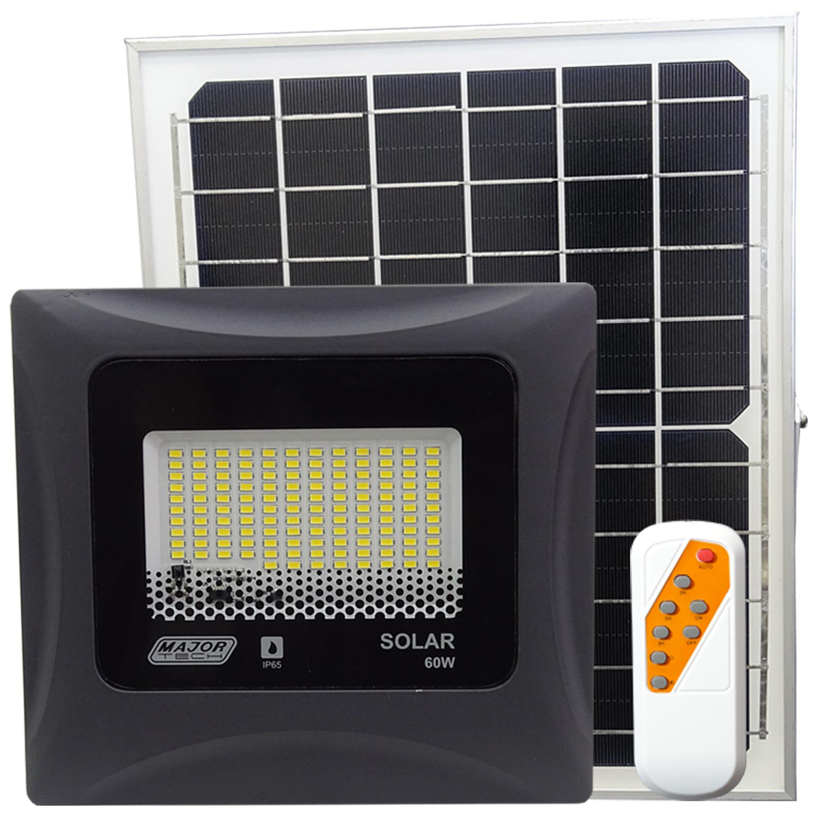 60W Solar Power LED Outdoor Flood Lights (STG11-60N) - Major Tech