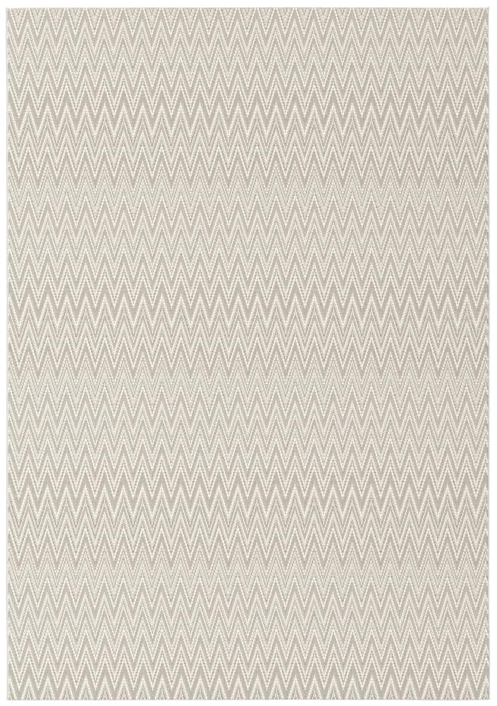 Rugs Original Zigzag Pulse Design Prisma - Cream & Light Brown (200 X 290)