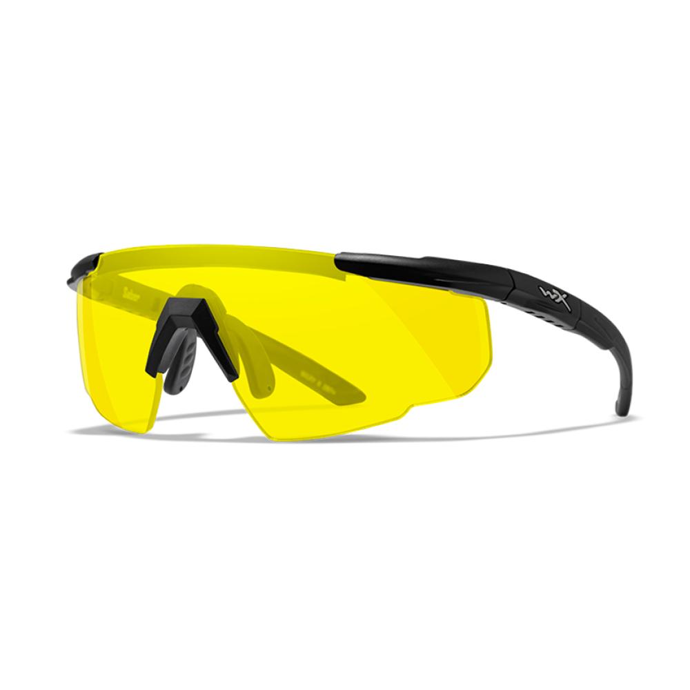 Wiley X Saber Advanced Yellow Lens Matte Black Frame