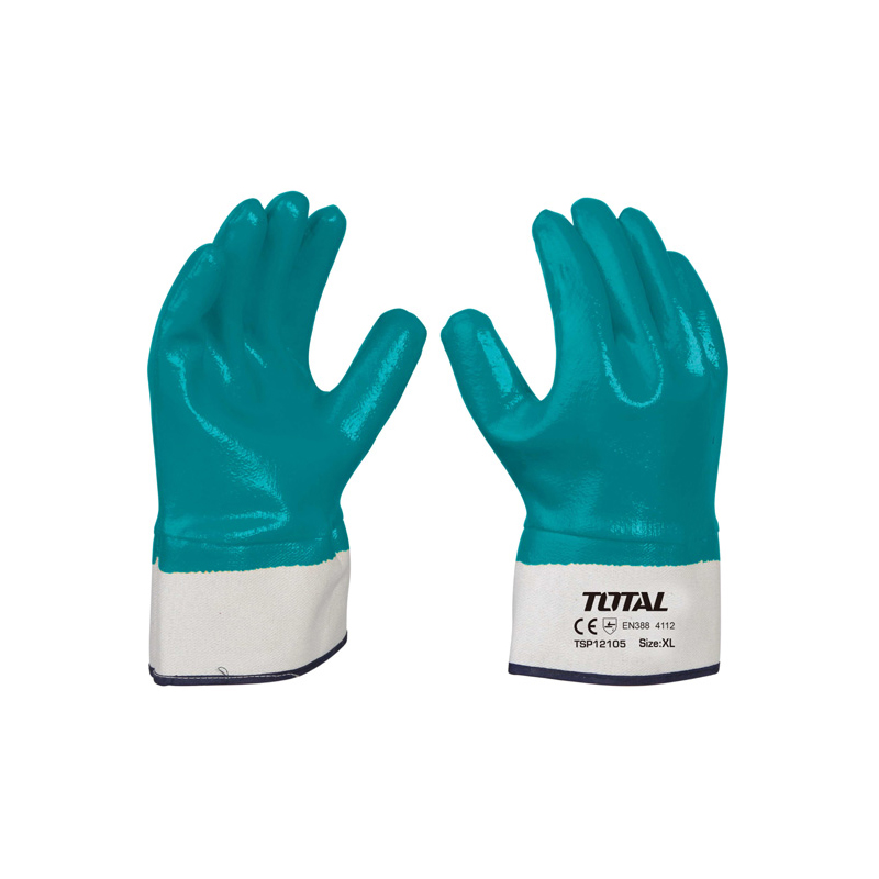 Total Tools 4 Pairs Nitrile gloves