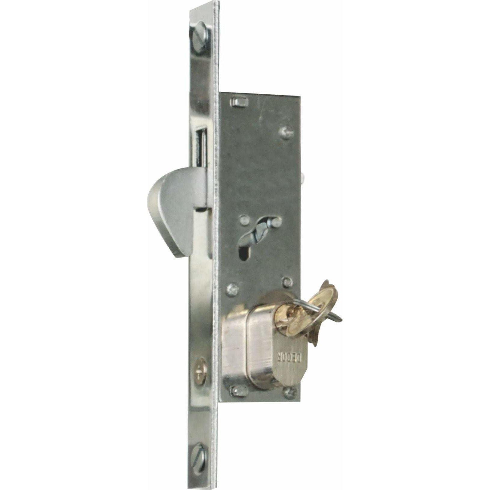 Hook lock - for aluminum sliding or stacking doors