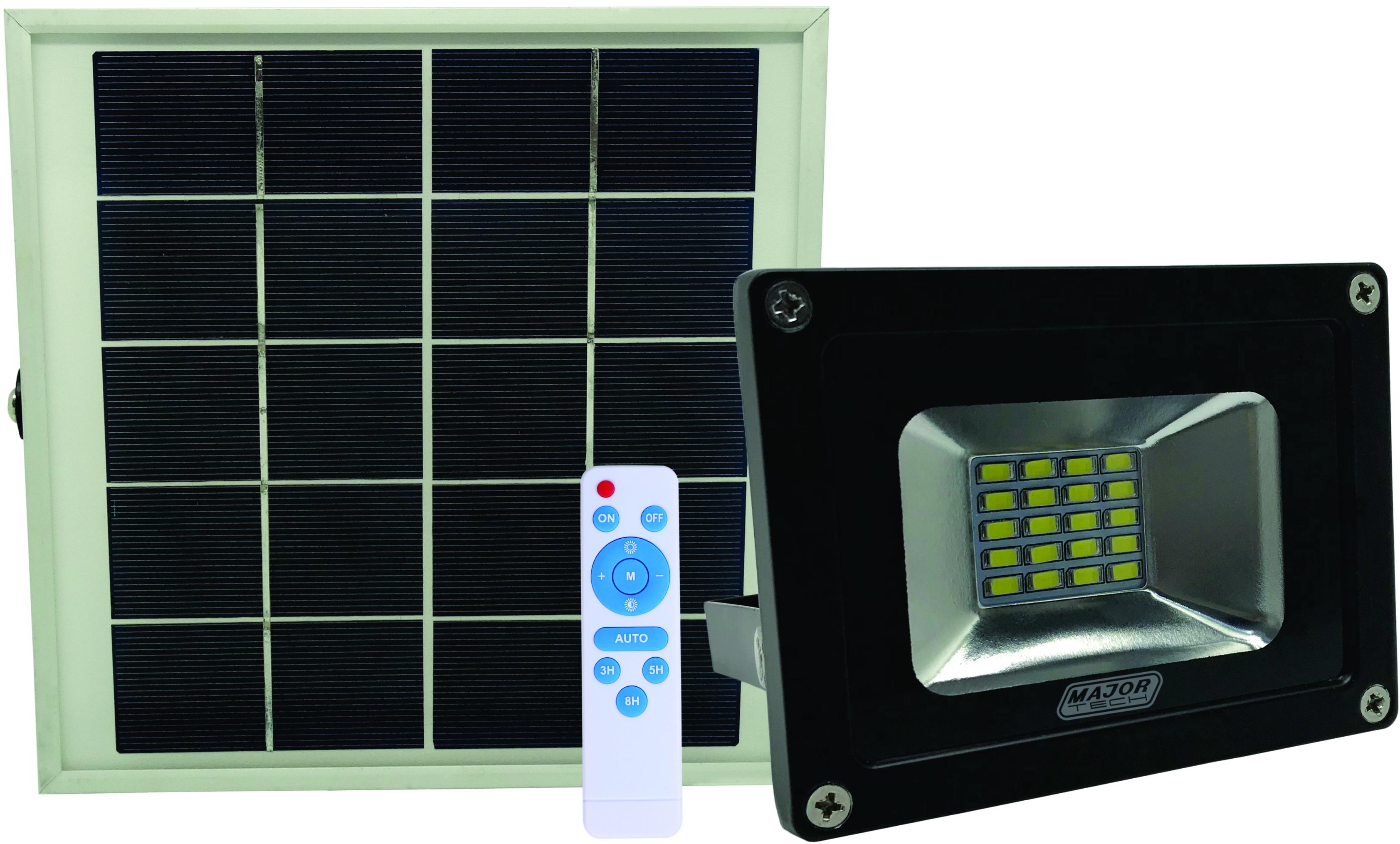 10W Solar Power LED Outdoor Flood Lights (SFR105) - Major Tech