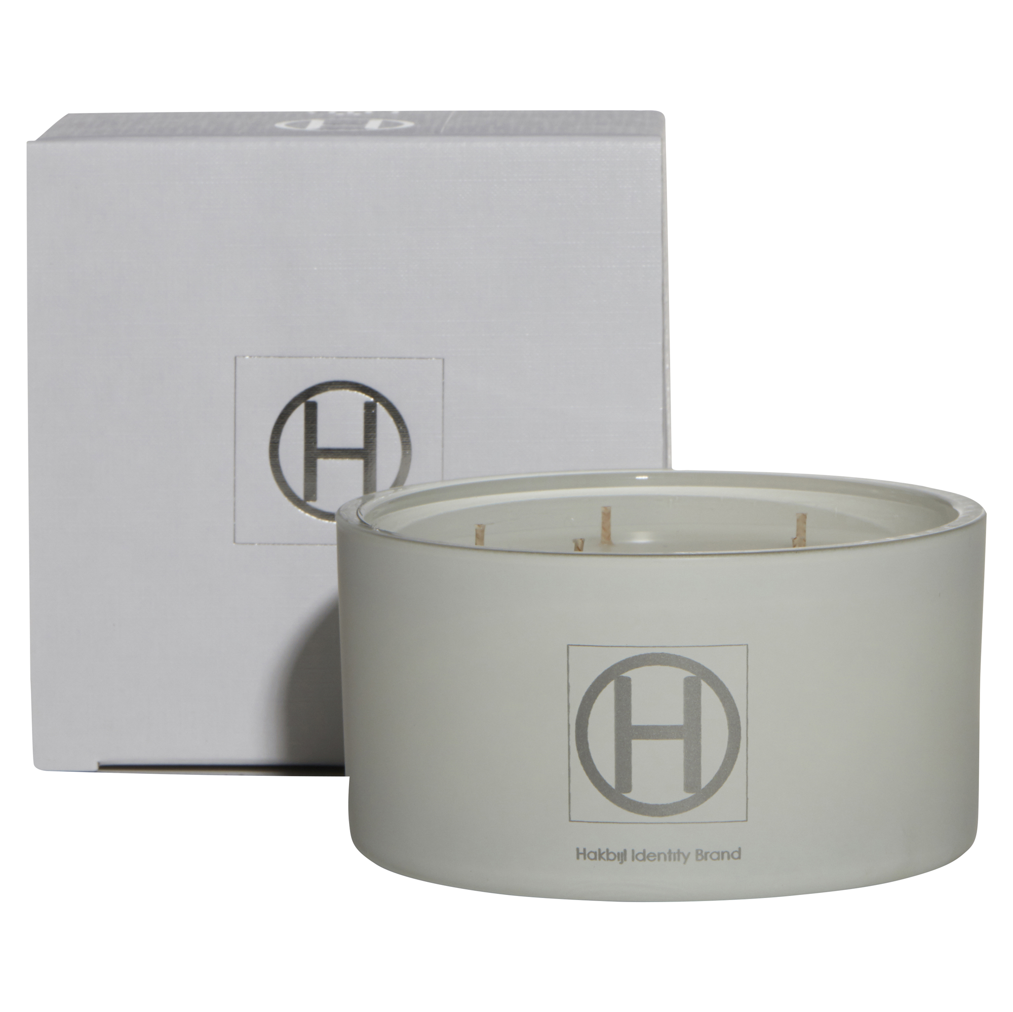 HiB Scented Candle - Matte White - Ghost - D15