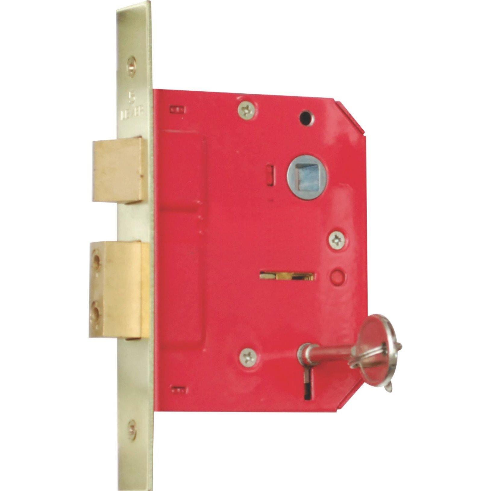 5 Lever Door Lock - High Security - Mortise Lock