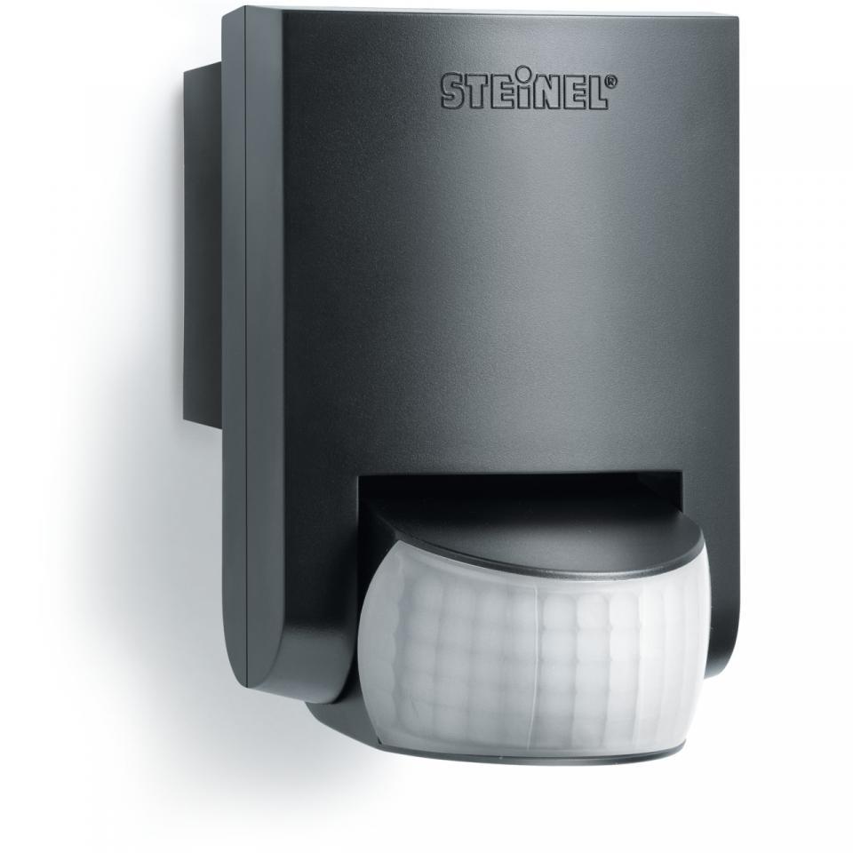 German Quality _ Steinel Motion Sensor IS 130-2 Black _Motion Detector _ Light Sensor