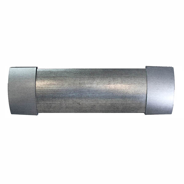 Matoc 106mm Curtain Pelmet - German Silver - 2.0m