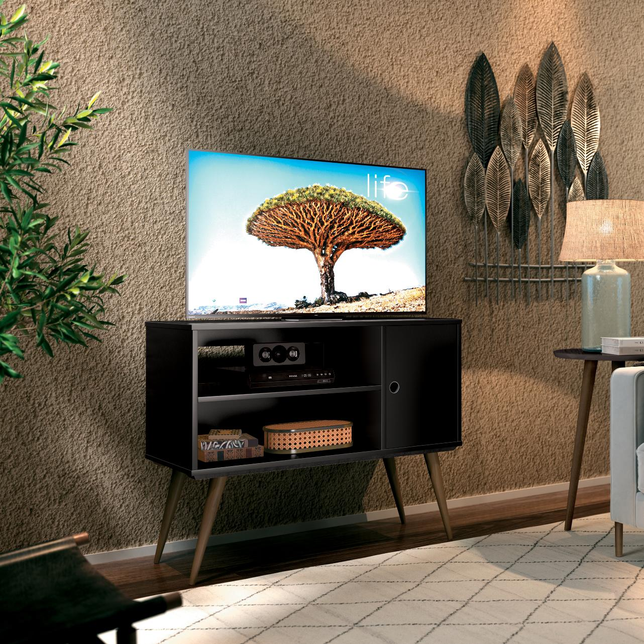 TV Unit Reale Black