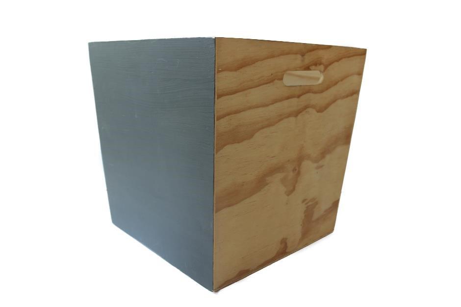 Bucket Box Medium Natural - Plywood Natural