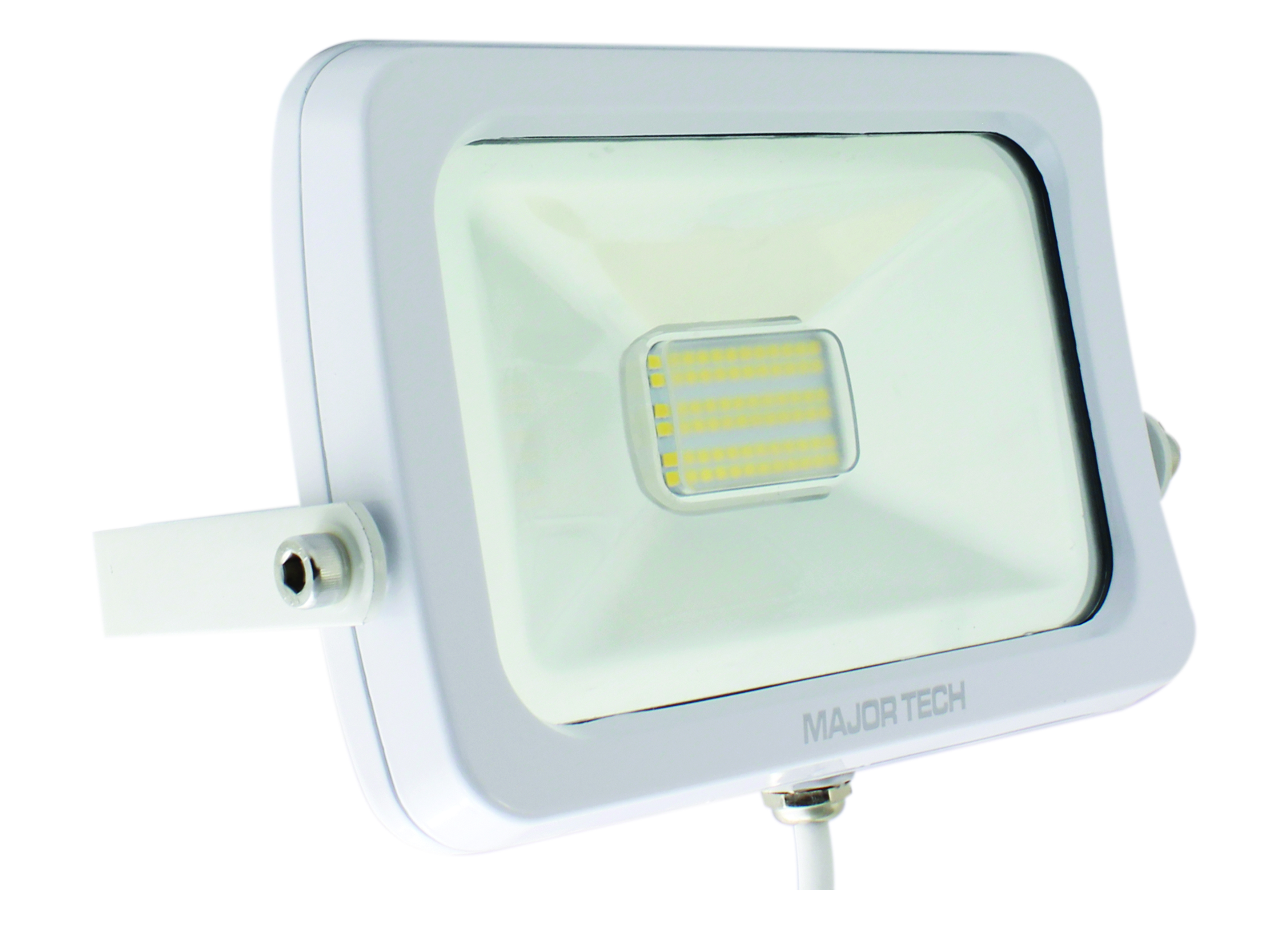 Natural White  30W LED Outdoor Floodlight (LFW-30NWS) - Major Tech