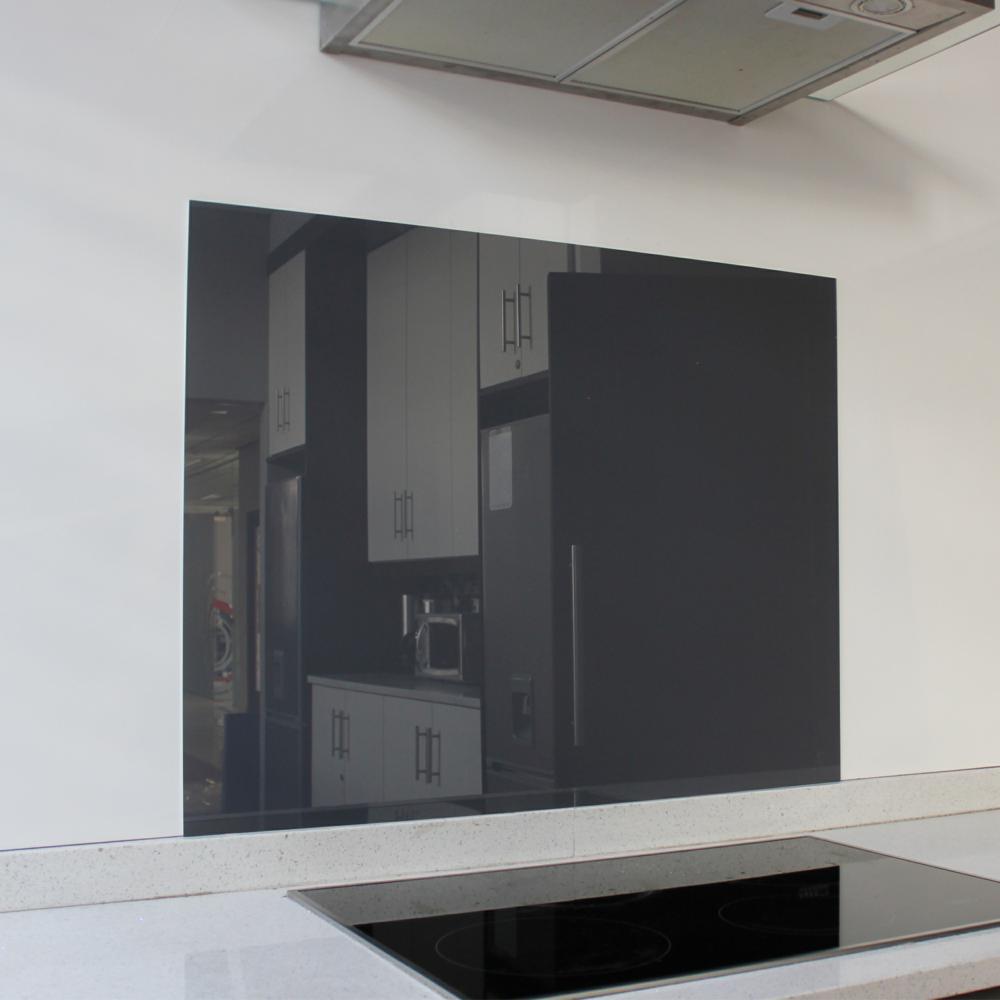 Charcoal Hob Glass Splashback (898 x 700 x 6mm)