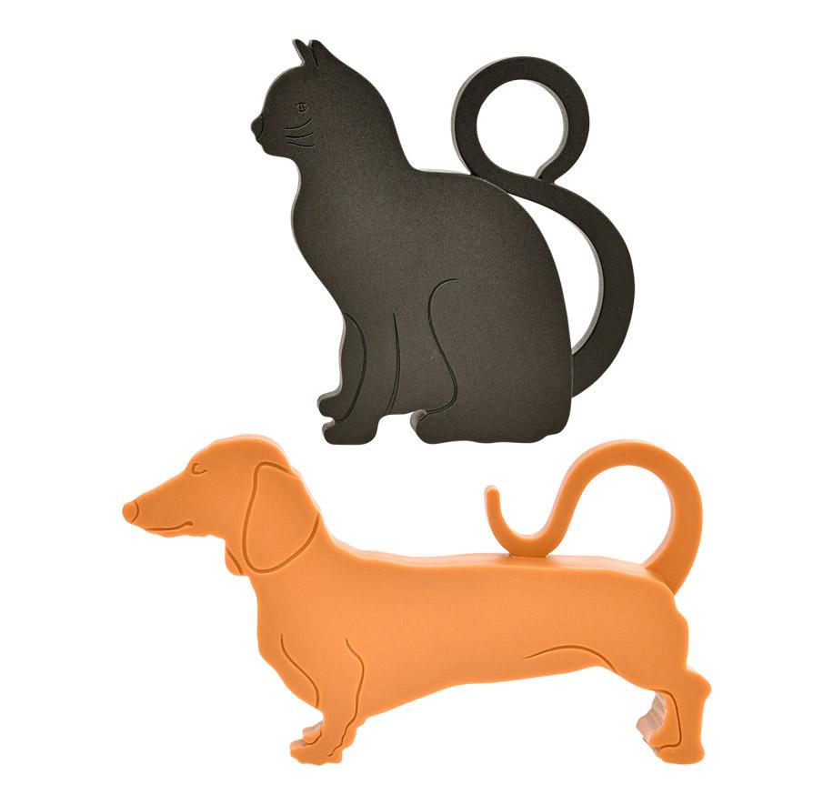 Doorwedge Cat & Dog Set