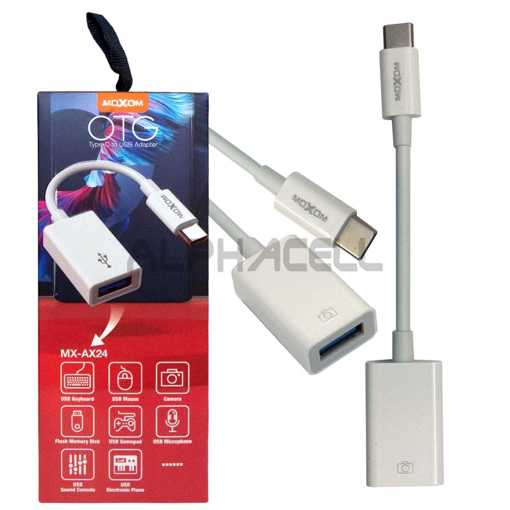 ADAPTOR - Type C to USB AX24 White