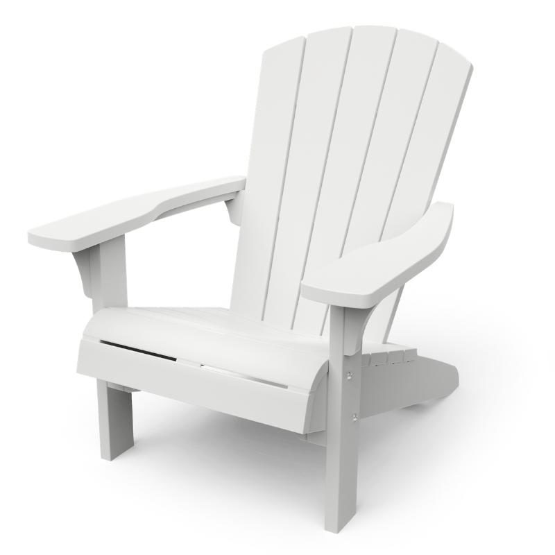 KETER Troy Adirondack Chair - White