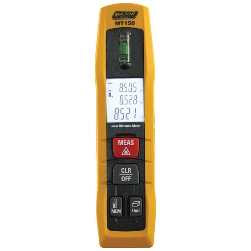 Professional 50M Laser Distance Meter (MT150) - Major Tech