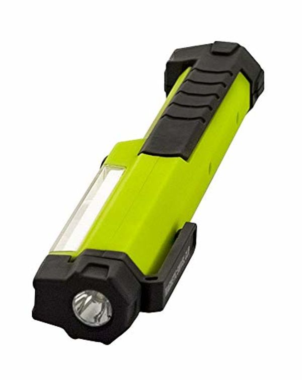 Luceco - 1.5W Led Inspection Torch - Magnetic - Tilting Usb Rechargeable - Built-In Powerbank