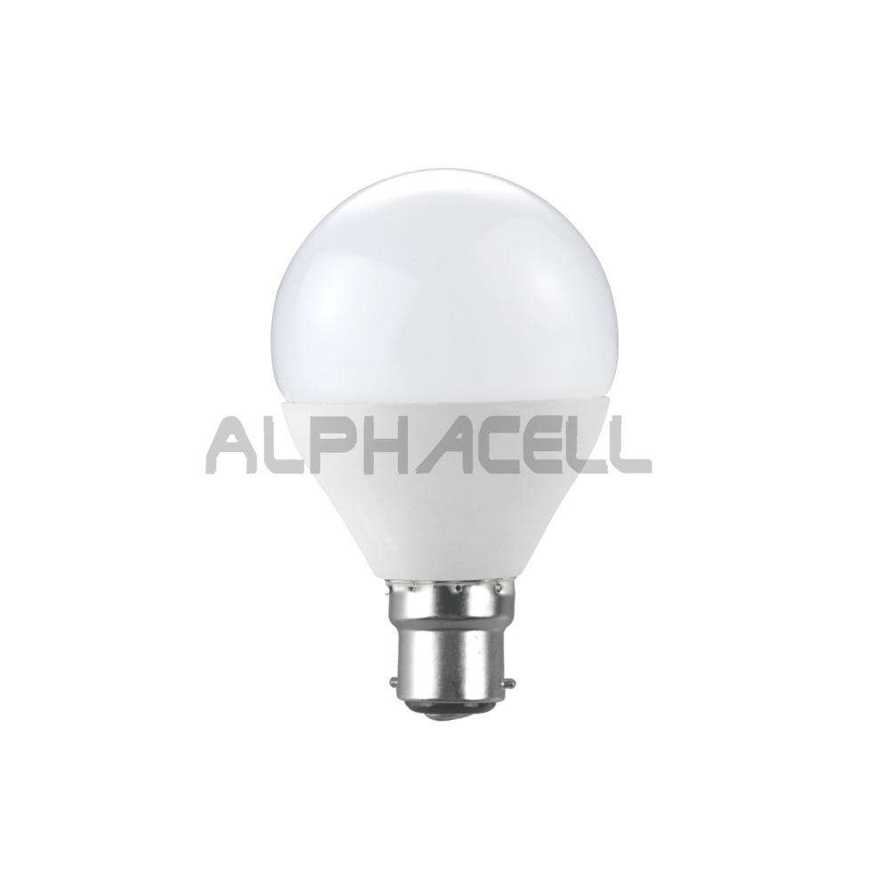 B22 GOLF BALL 5W SMD LED G45 DAYLIGHT KRILUX