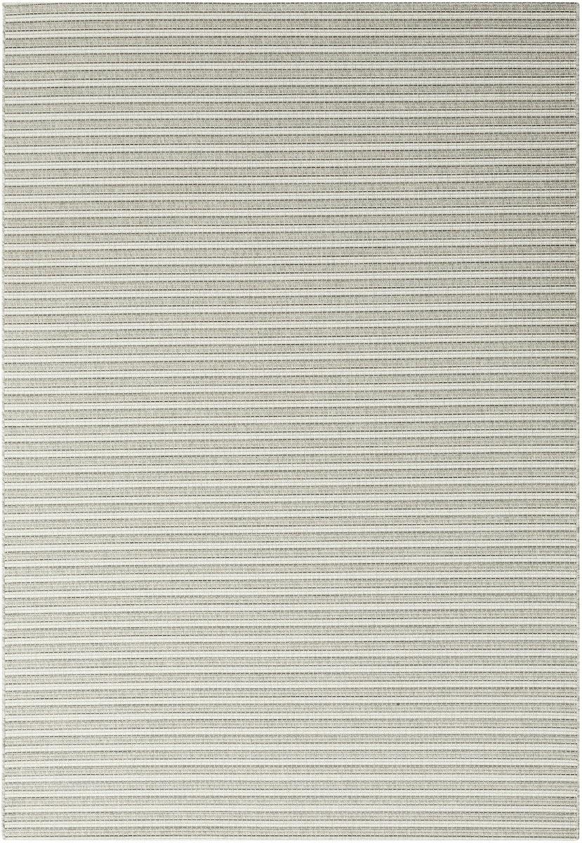 Rugs Original Patio Grace (160 x 230) Silver & Grey Stripe