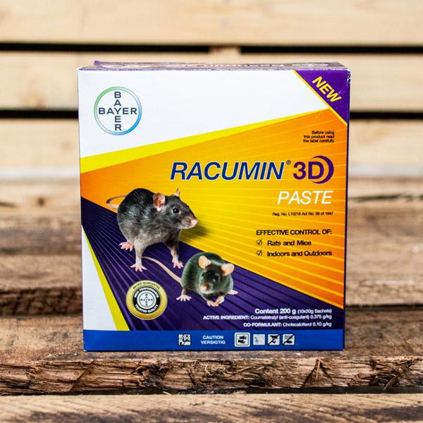 Bayer Racumin 3D paste 200g