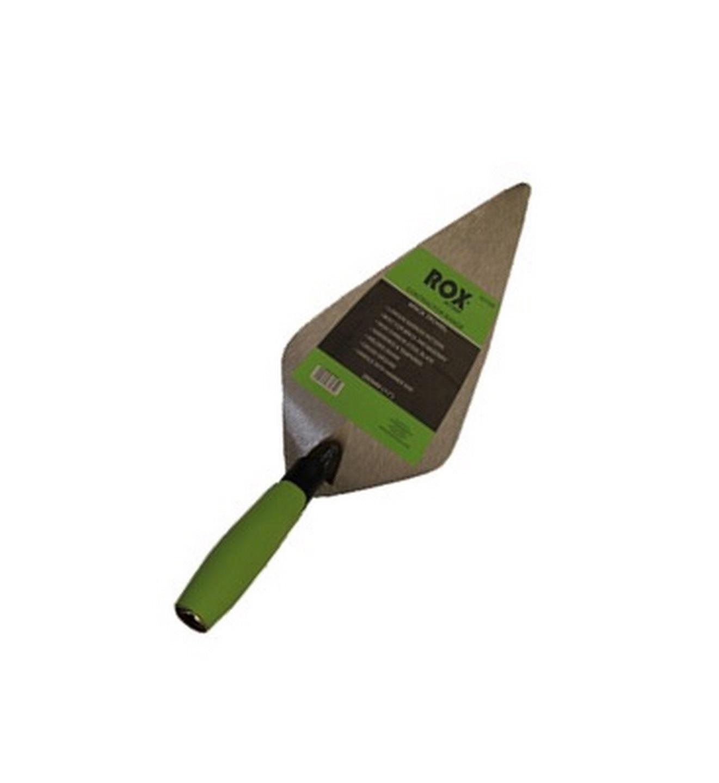 """Rox® brick trowels - contractor range - 280mm (11"""") - carbon steel blade - TPE handle"""