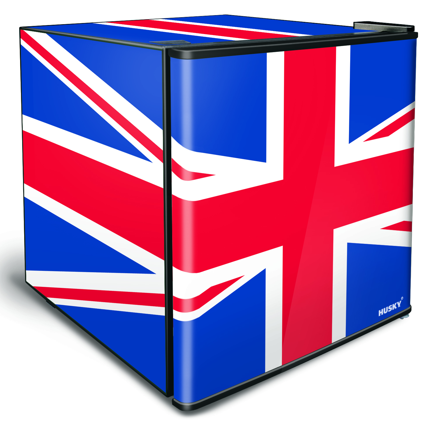 46L Counter-Top Mini Fridge - Solid Door - Union Jack Flag
