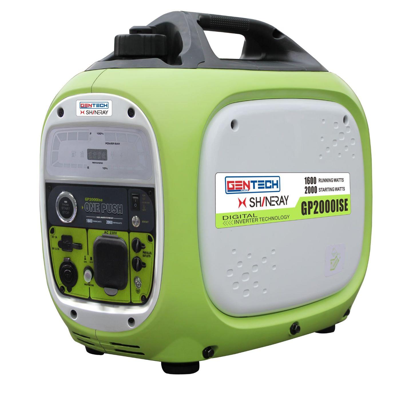 2KVA Pure Sinewave Electric Start Inverter Generator Green