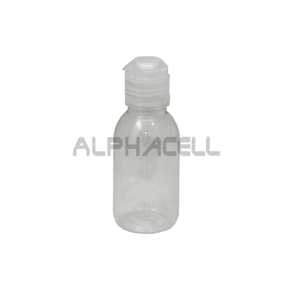 Bottle with Fliptop lid - 100ml