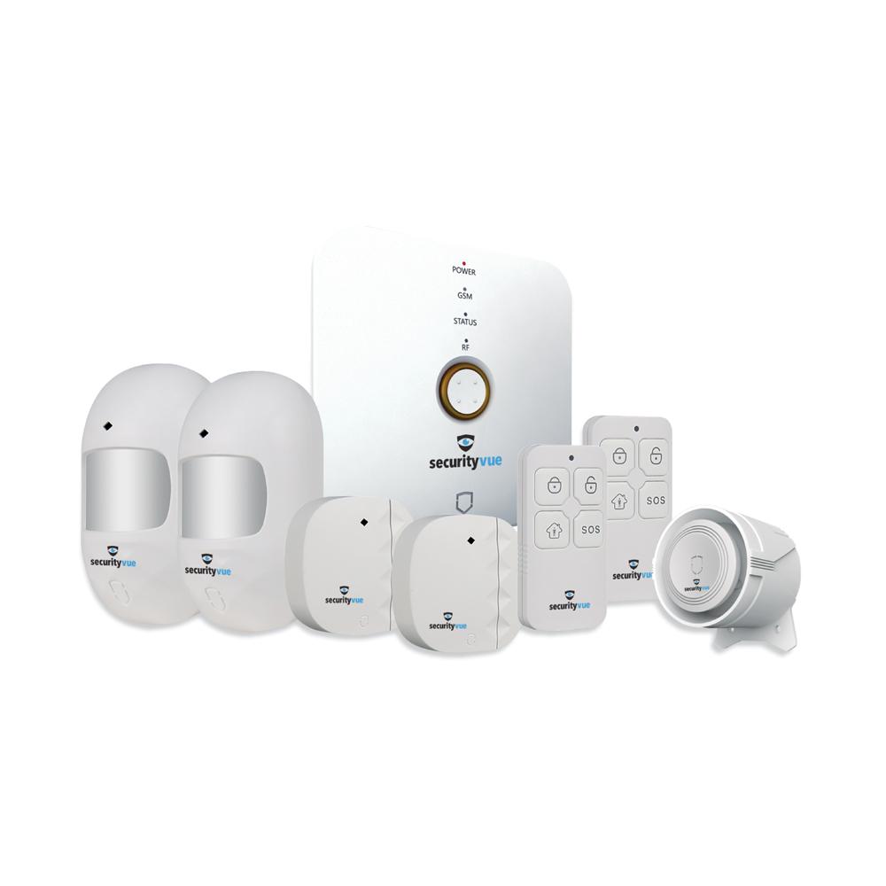 Wireless Smarthome Alarm Kit 10 Zone