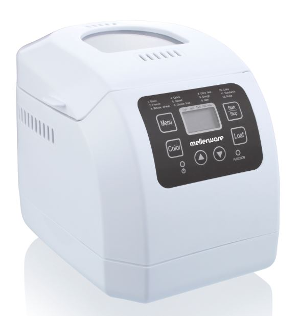 Bread Maker Fully Automatic Plastic White