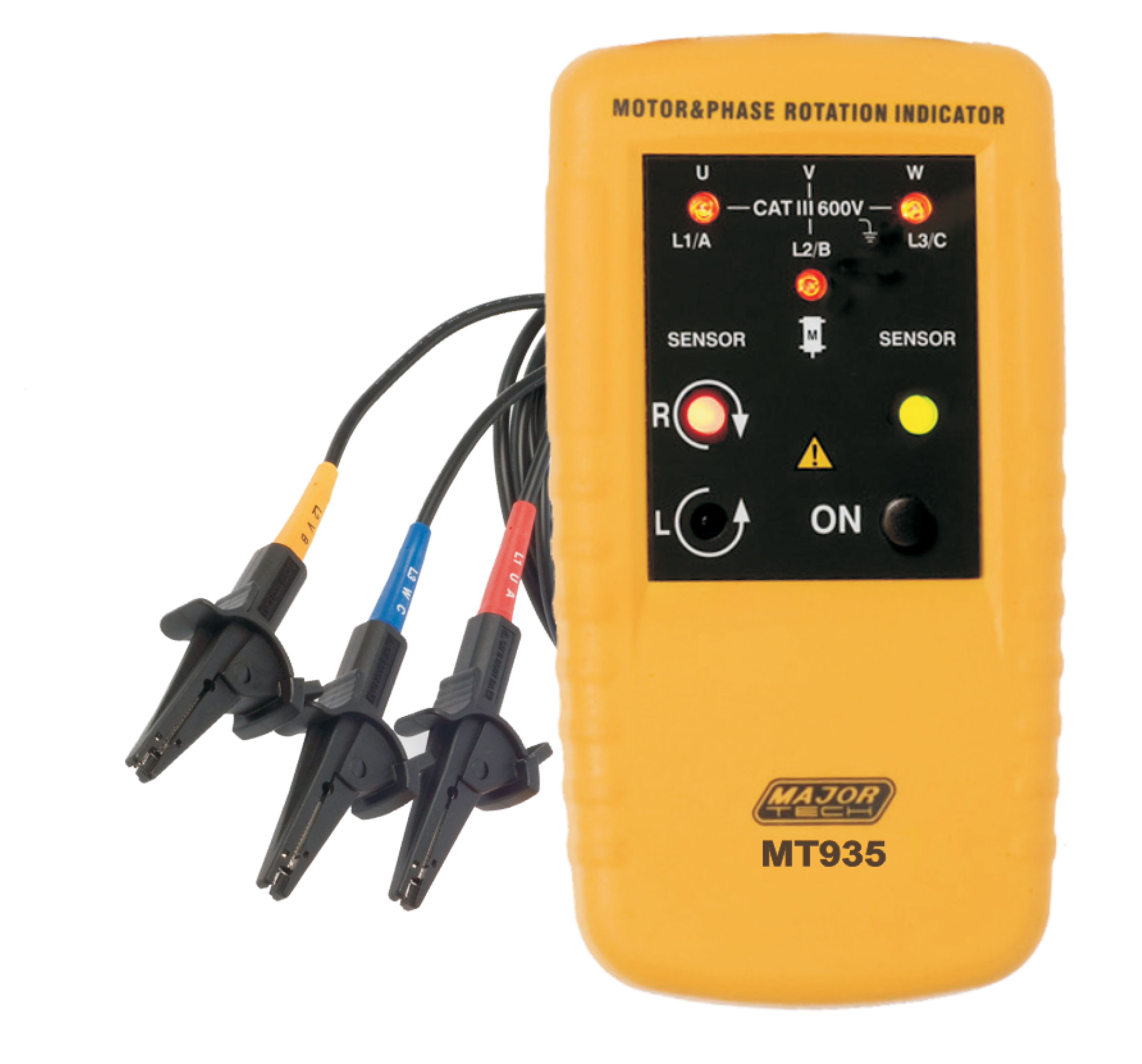Dead Motor and Phase Rotation Meter (MT935) - Major Tech