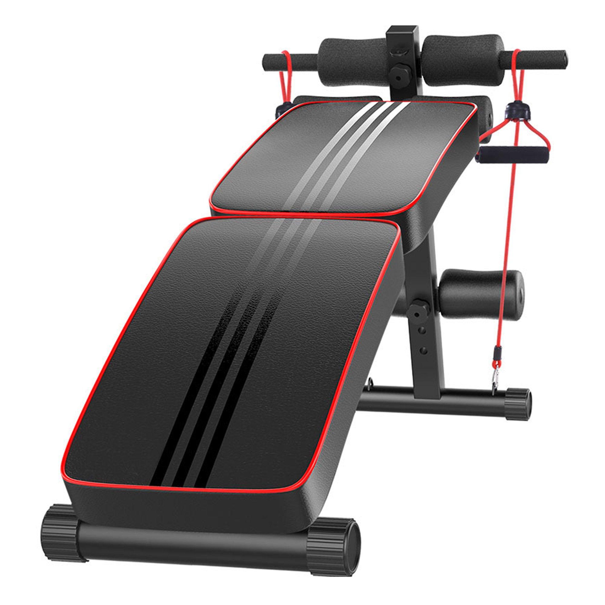 Folding Sit Up Exercise Bench