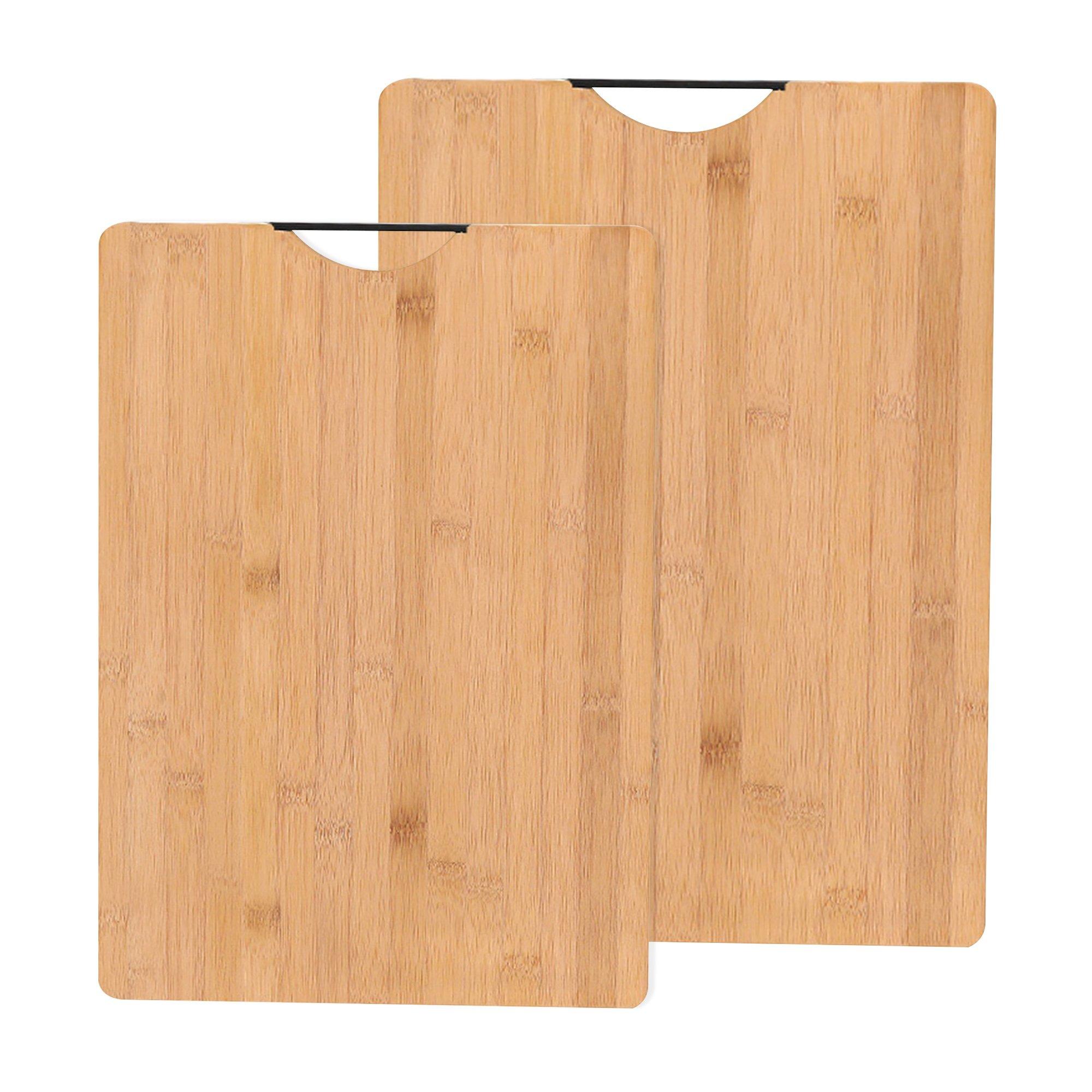 Bamboo Chopping Board 2Pcs Set