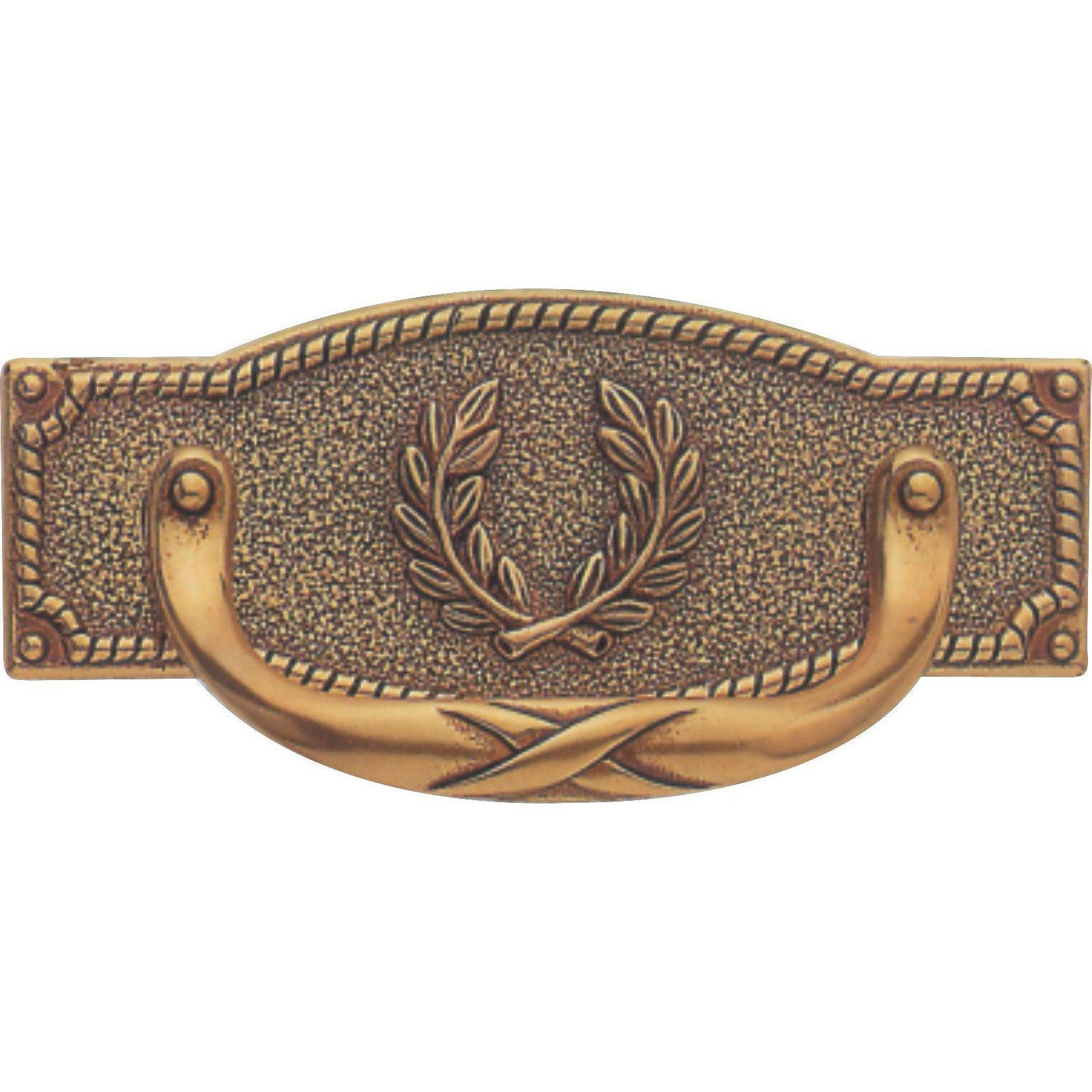 Antique drawer handle
