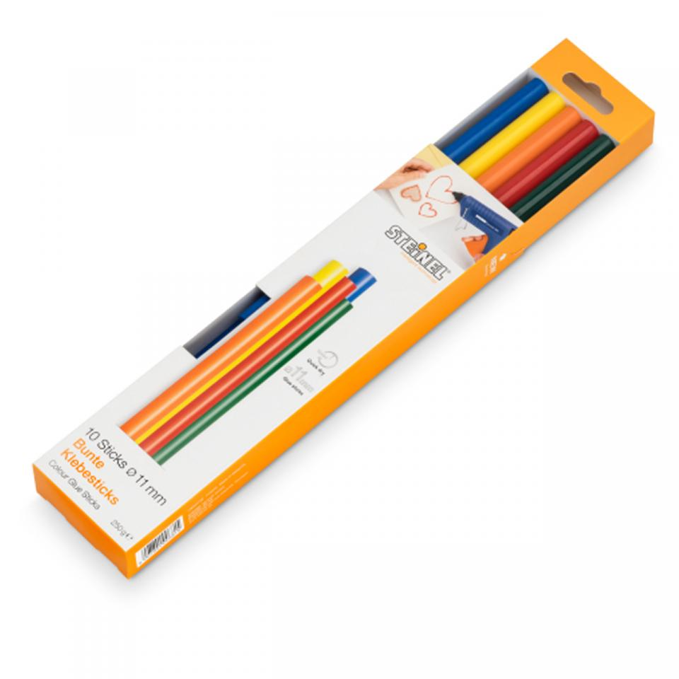 German Quality _ Steinel - 10 Color sticks Ø 11 mm