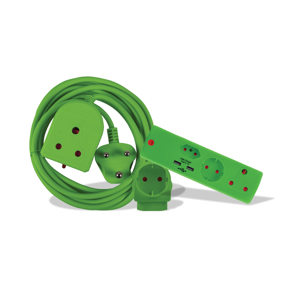 Electricmate Colour Combo Pack Green