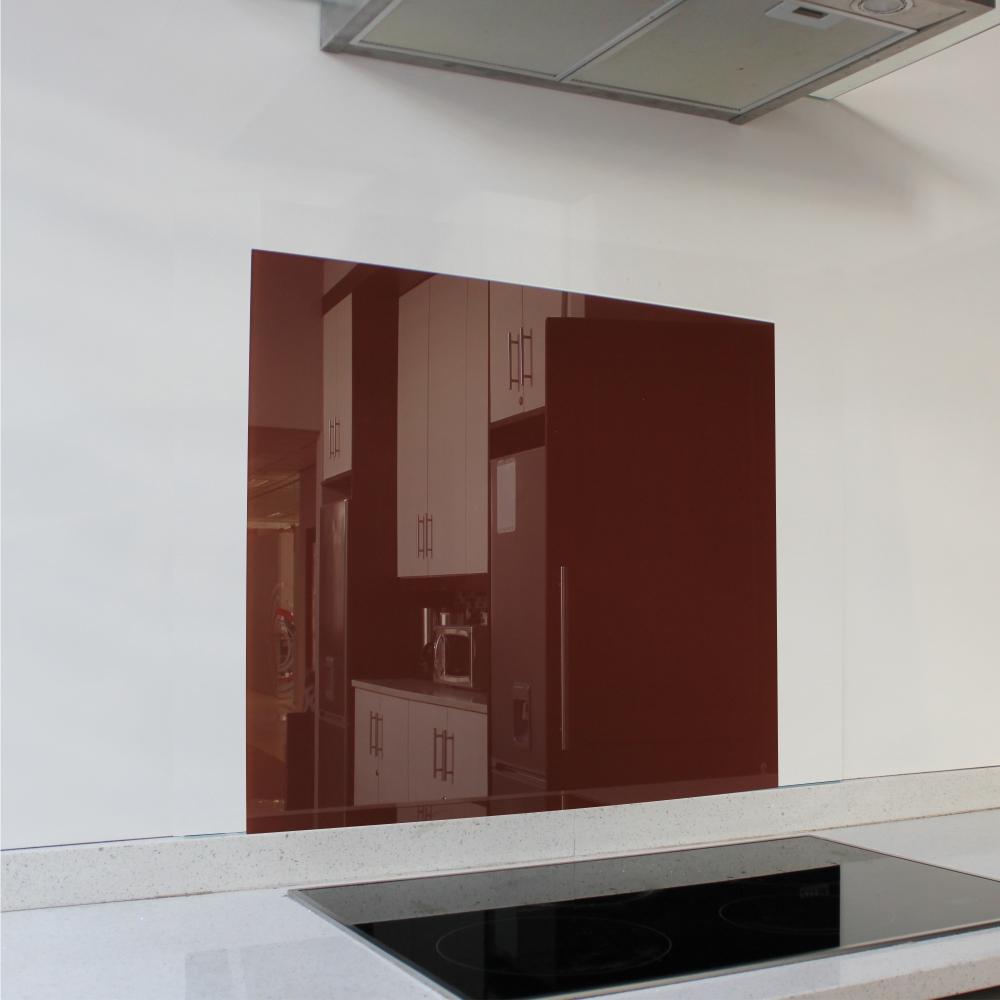 Burgundy Hob Glass Splashback (598 x 650 x 6mm)