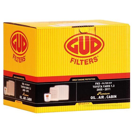 Filter Service Kit Toyota Yaris - GUD (FK5)