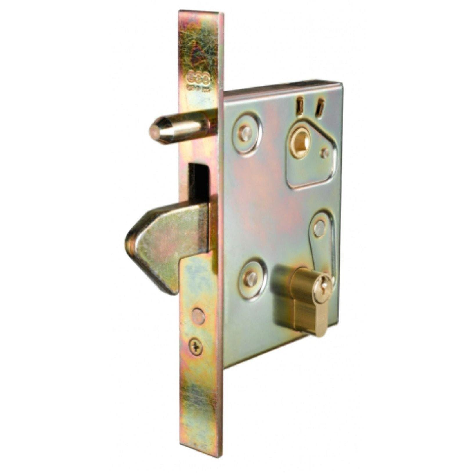 Slam lock with anti-theft pin (Lock Body Only)