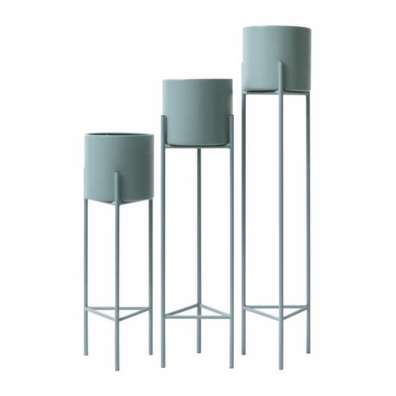 Cassidy Plant Stand 3pc - Teal