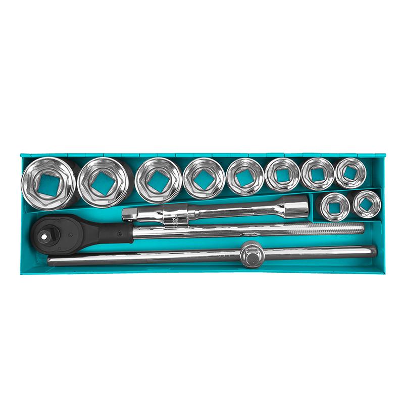 """Total Tools Socket Set 15Pcs 3/4"""" DR."""