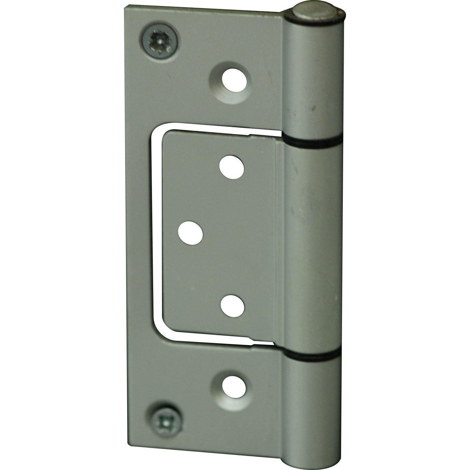 Aluminium sinkless hinge