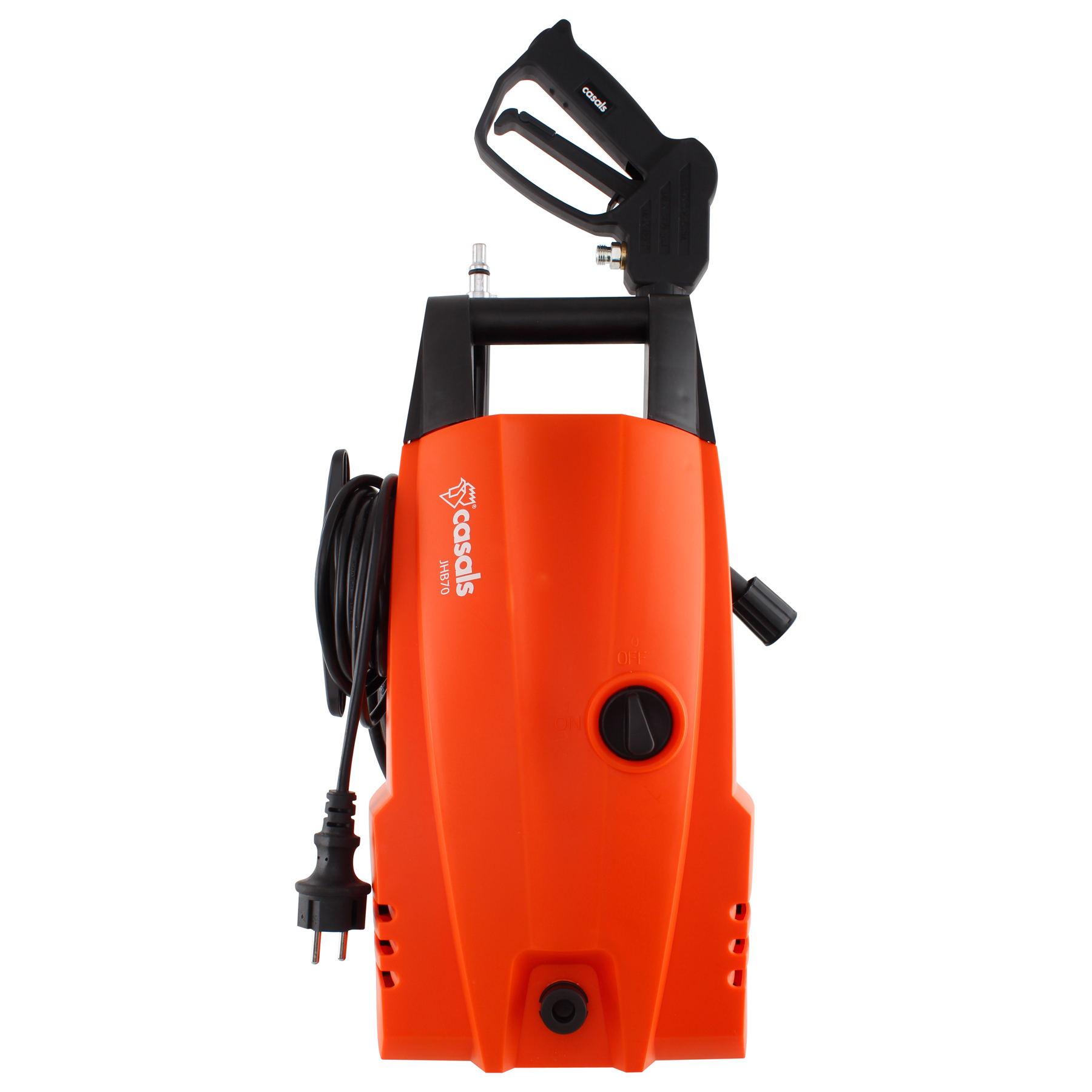 High Pressure Washer With Attachments 105Bar