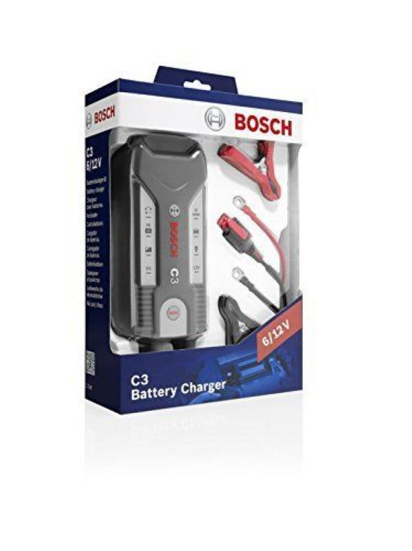 Battery Charger BOSCH C3 Smart Fully Automatic 6/12V