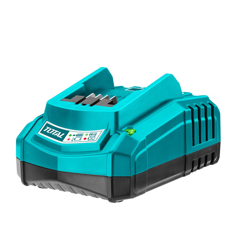 Total Tools 20V Lithium-Ion Industrial Fast Intelligent Charger
